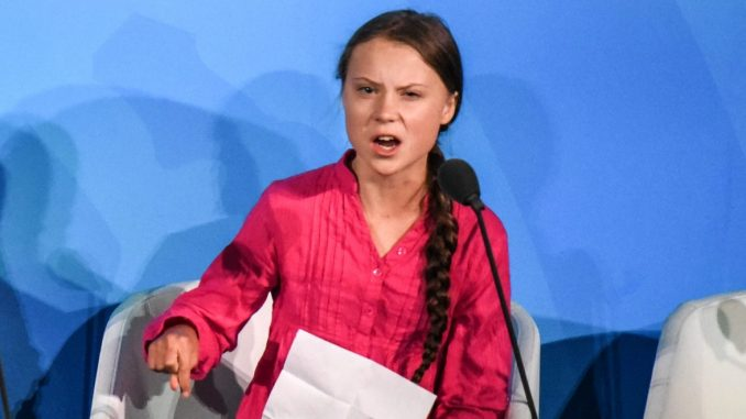 Greta Thunberg in Protests for Aviation to Take Climate Responsibility